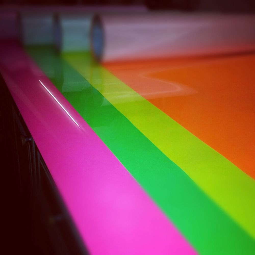 Fluorescent T Shirt Vinyl A4 Sheets